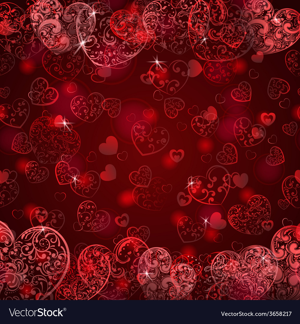 Background of hearts vector | Price: 1 Credit (USD $1)