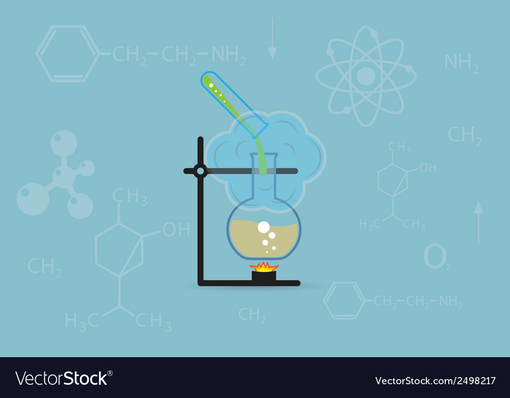 Chemistry background vector | Price: 1 Credit (USD $1)