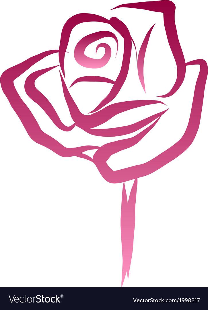 Rose01 vector