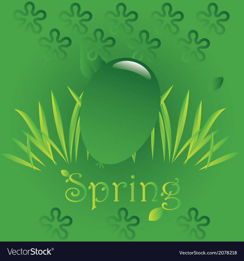 Spring easter 4 vector | Price: 1 Credit (USD $1)