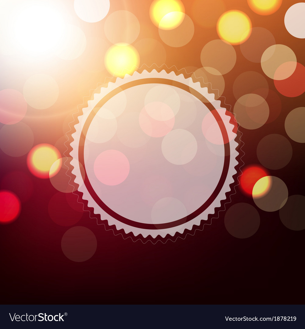 Background with bokeh and sphere vector | Price: 1 Credit (USD $1)