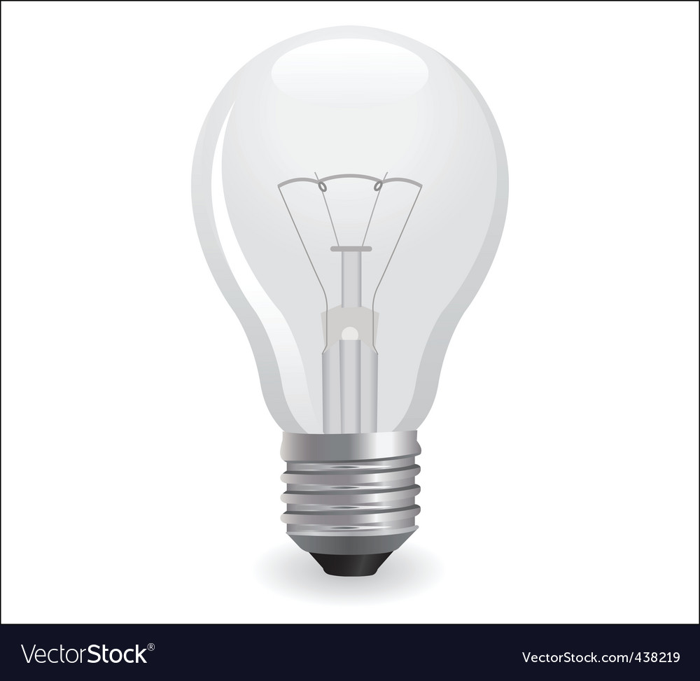 Incandescent electric bulb vector | Price: 1 Credit (USD $1)