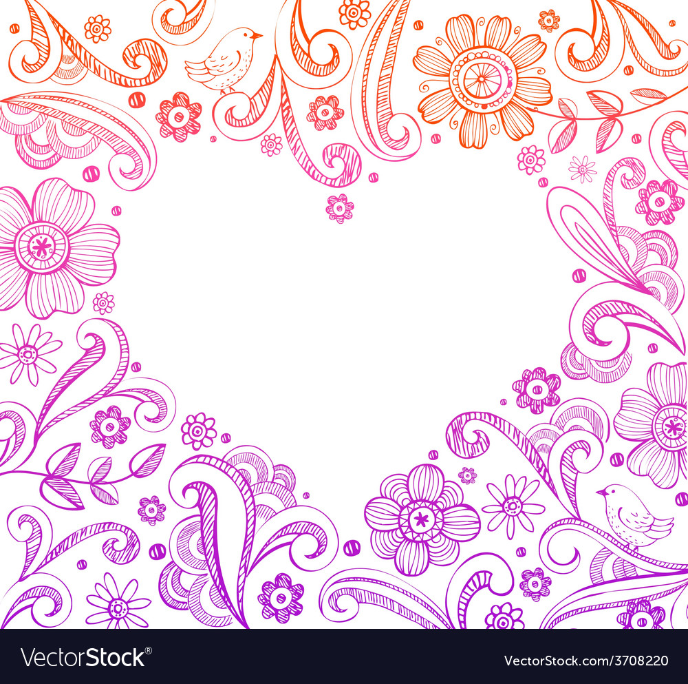 Heart shape frame vector | Price: 1 Credit (USD $1)
