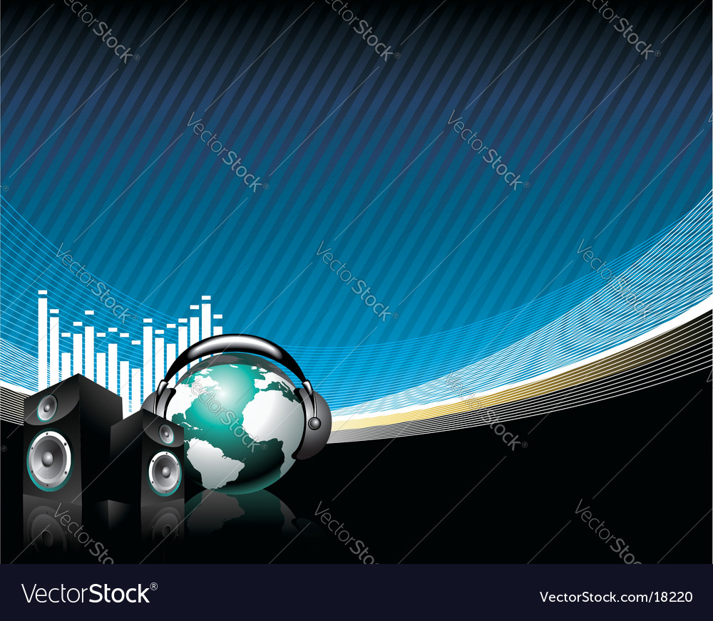 Music speaker vector | Price: 3 Credit (USD $3)