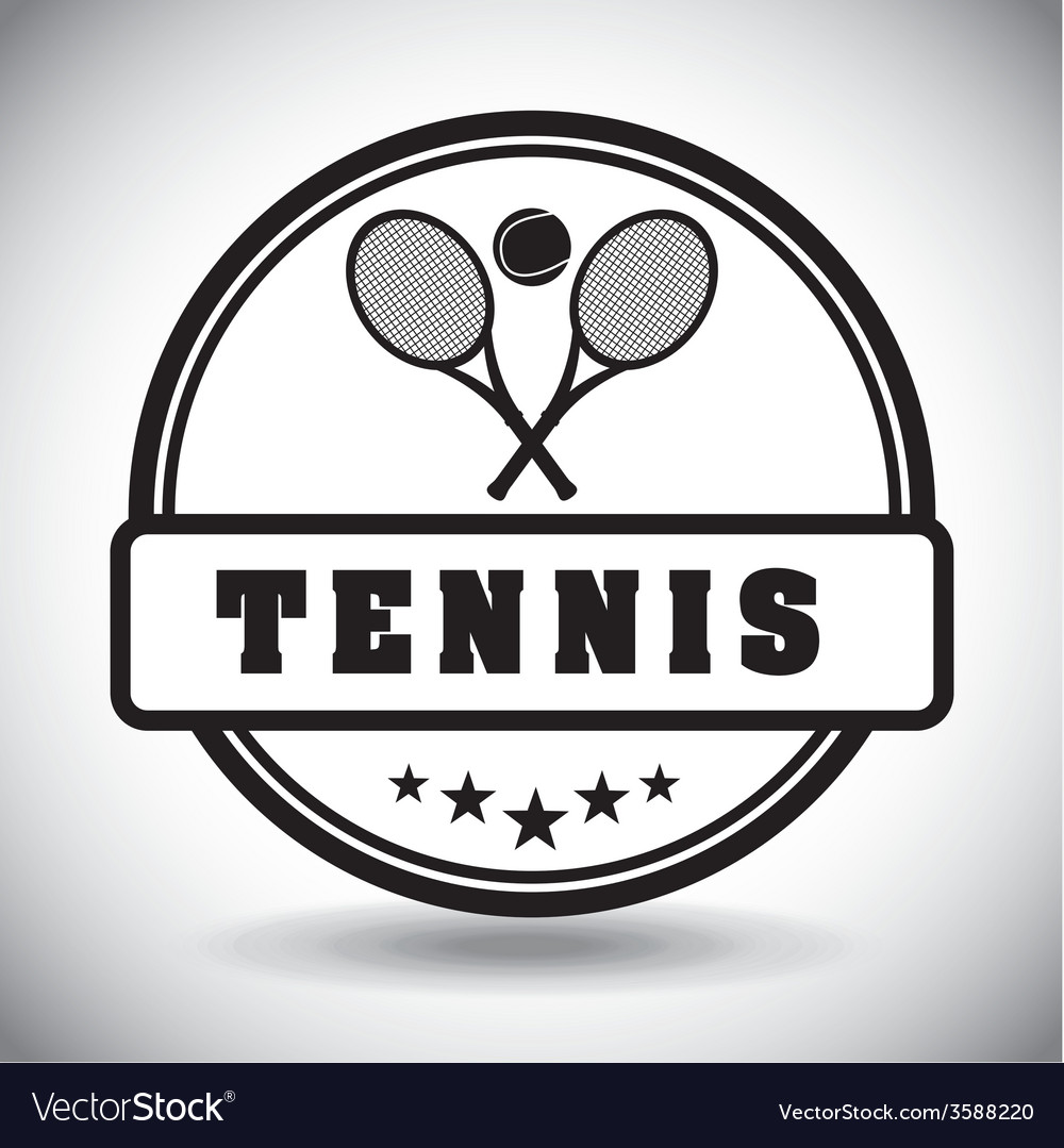 Tennis sport vector | Price: 1 Credit (USD $1)