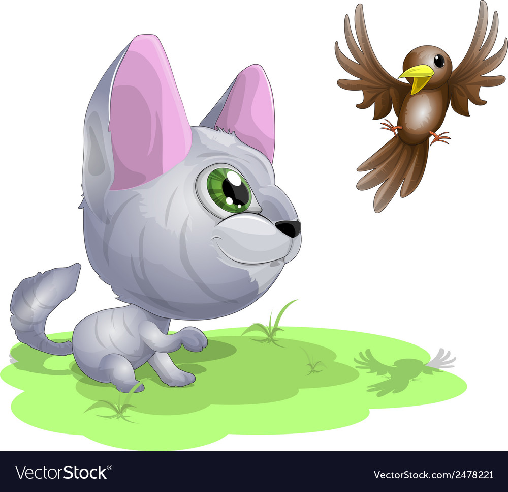 Cat2 vector | Price: 1 Credit (USD $1)