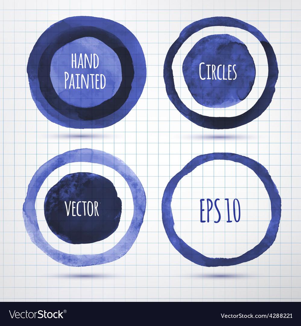 Hand drawn inky banners vector | Price: 1 Credit (USD $1)