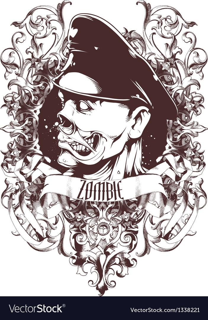 Zombie general vector | Price: 3 Credit (USD $3)