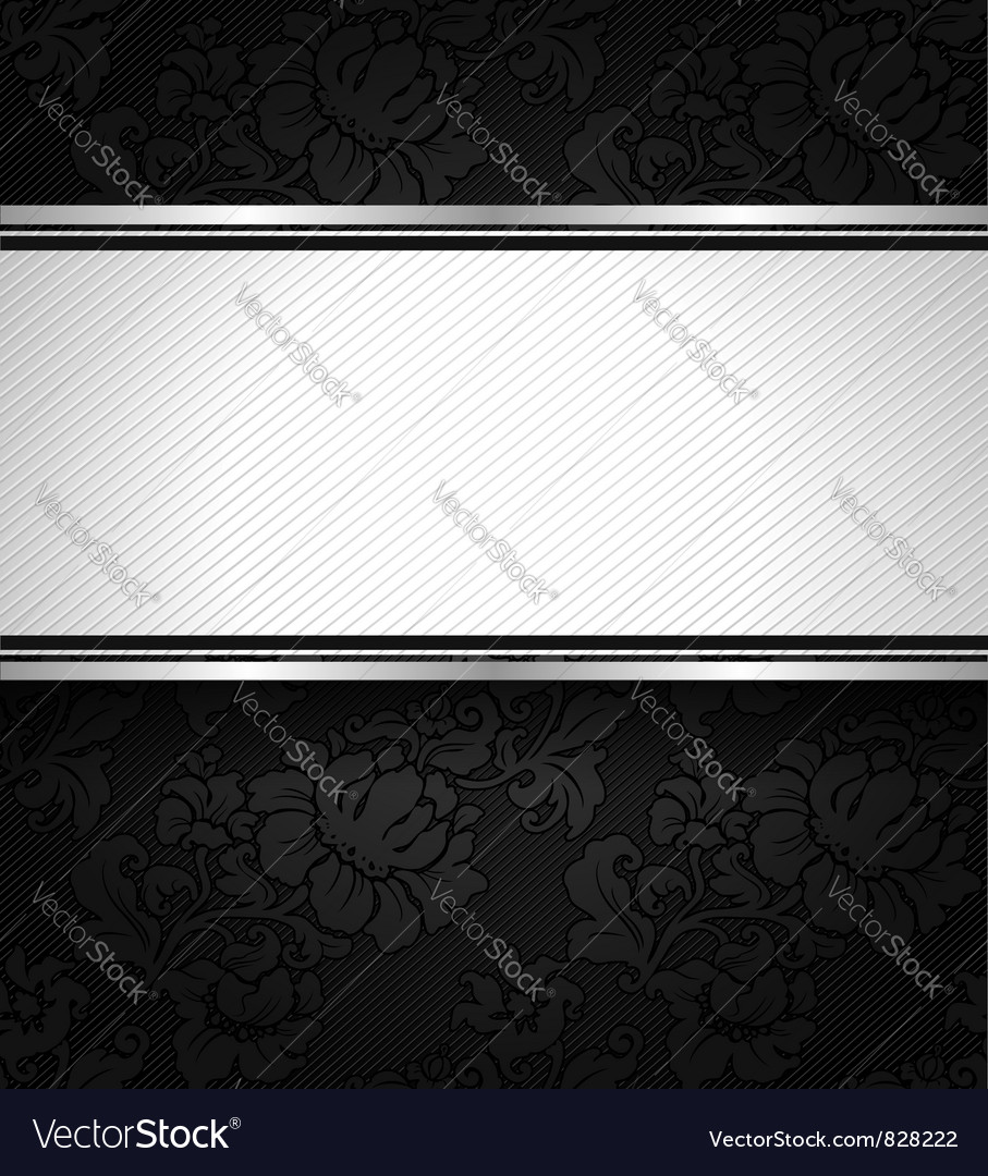 Background black ornamental fabric texture vector | Price: 1 Credit (USD $1)