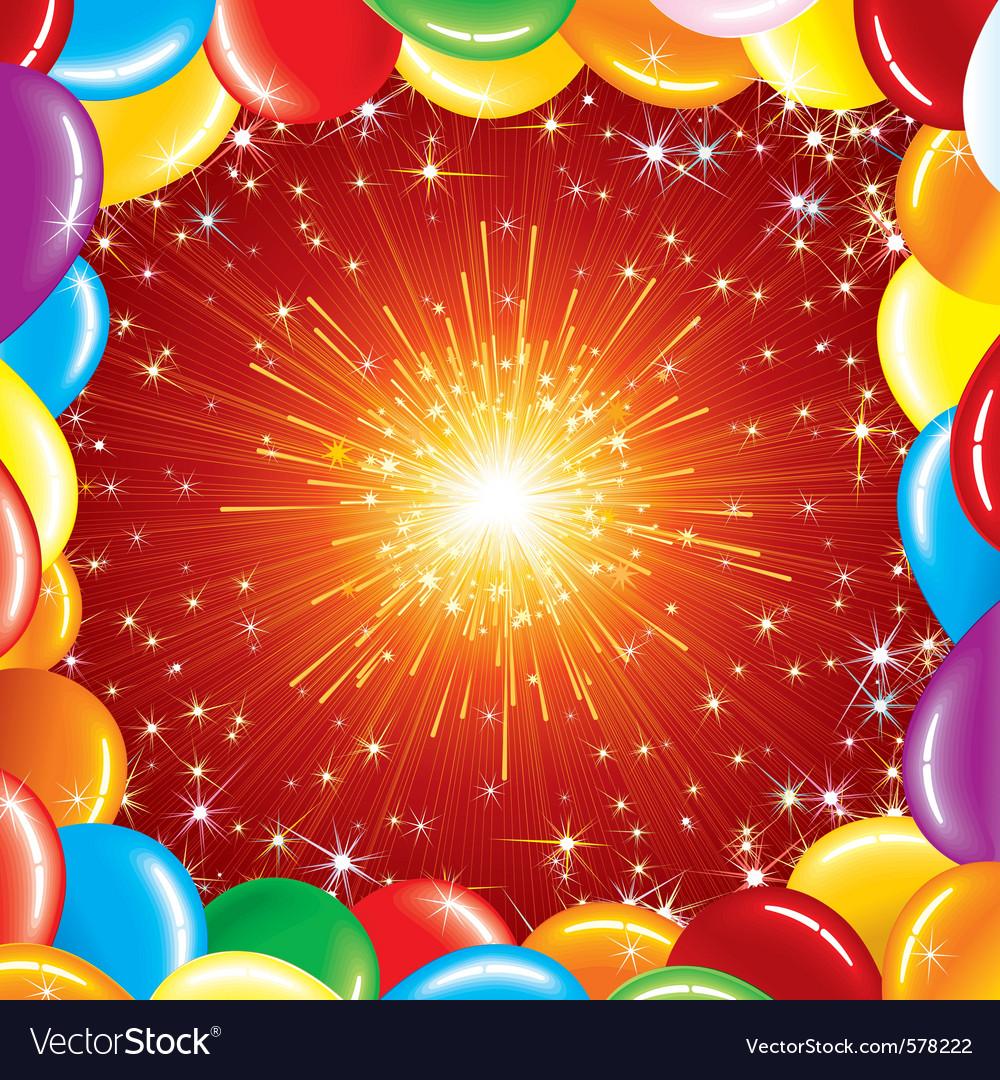 Celebration background vector | Price: 1 Credit (USD $1)