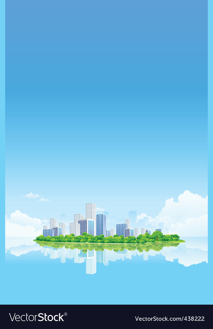City background vector | Price: 3 Credit (USD $3)