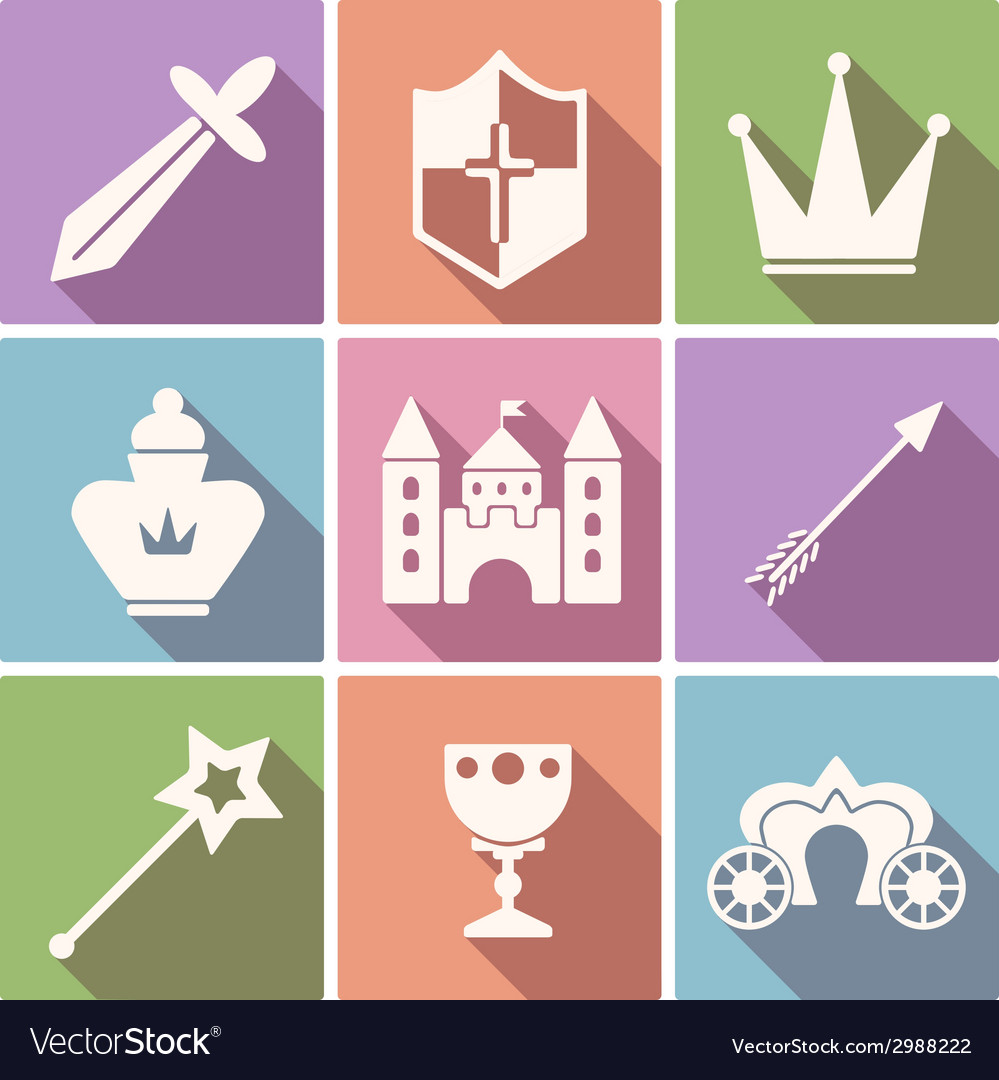 Tale icon set vector | Price: 1 Credit (USD $1)