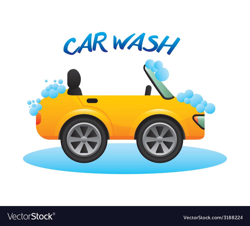 Car wash design vector   Price: 1 Credit (USD $1)