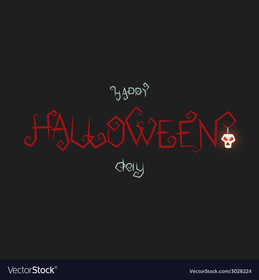Happy halloween day vector | Price: 1 Credit (USD $1)