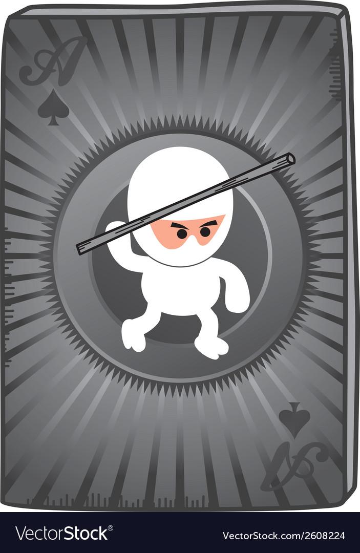 Ninja card vector   Price: 1 Credit (USD $1)