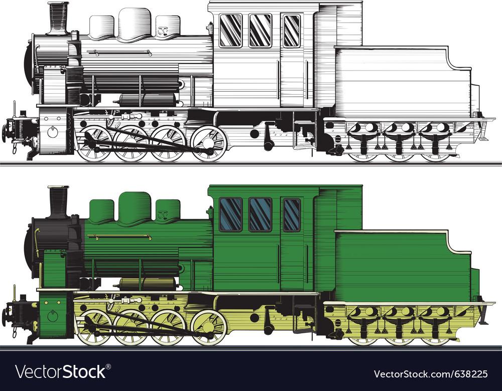 An old locomotive vector   Price: 1 Credit (USD $1)