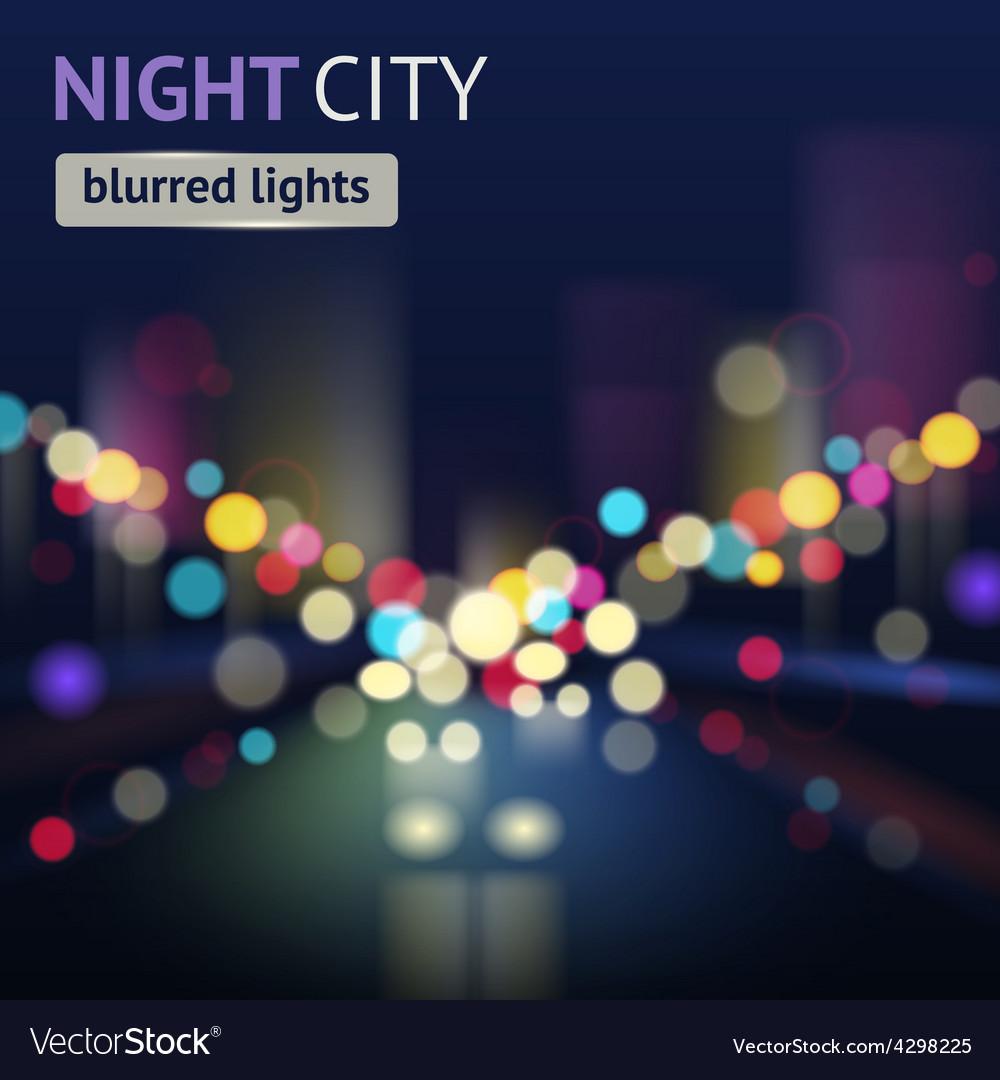 City blur background vector | Price: 1 Credit (USD $1)