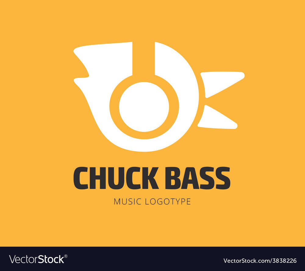 Abstract music chuck logo template for vector | Price: 1 Credit (USD $1)