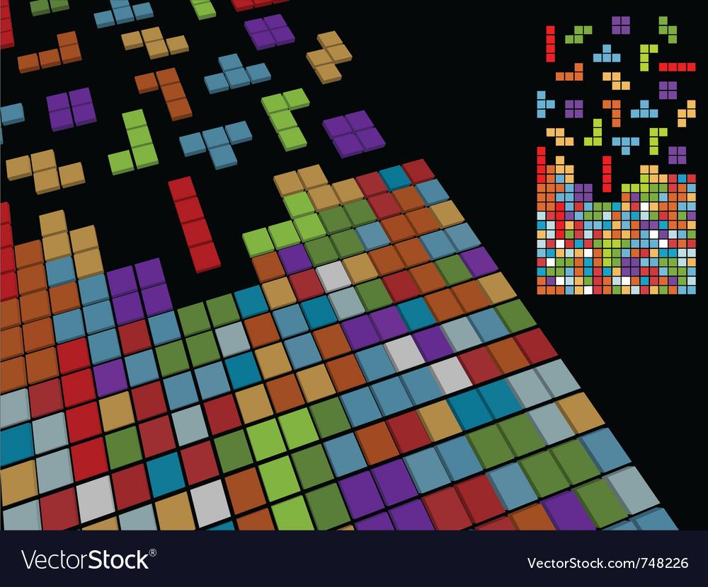 Vintage game background vector | Price: 1 Credit (USD $1)