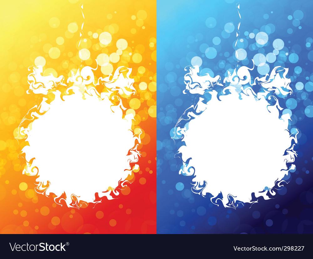 Abstract christmas ball vector | Price: 1 Credit (USD $1)