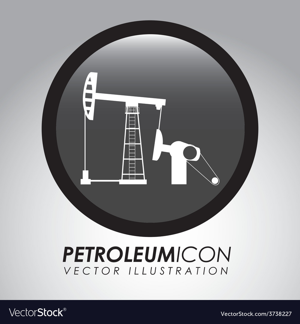 Petroleum icon vector | Price: 1 Credit (USD $1)