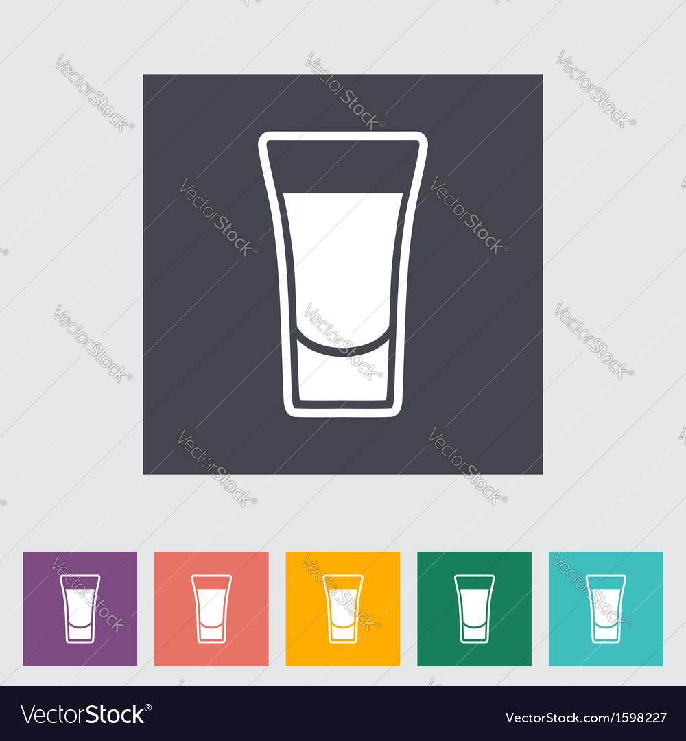 Shot drink vector | Price: 1 Credit (USD $1)