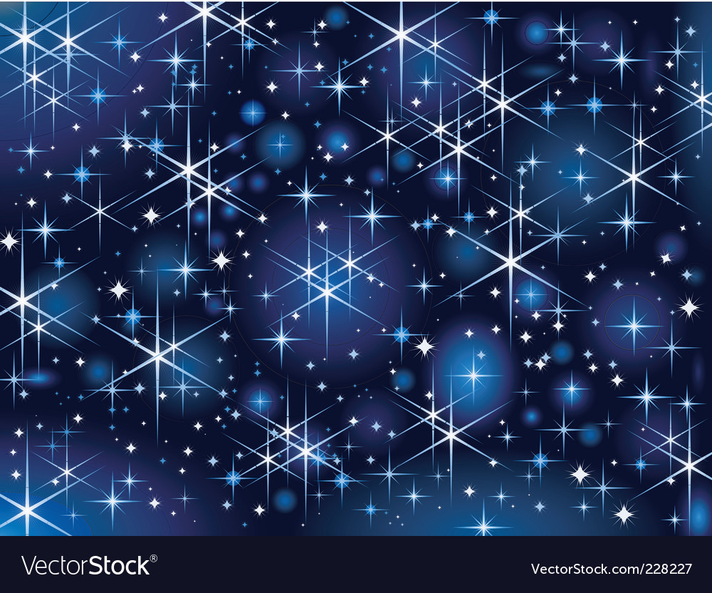 Starbright sky vector | Price: 1 Credit (USD $1)
