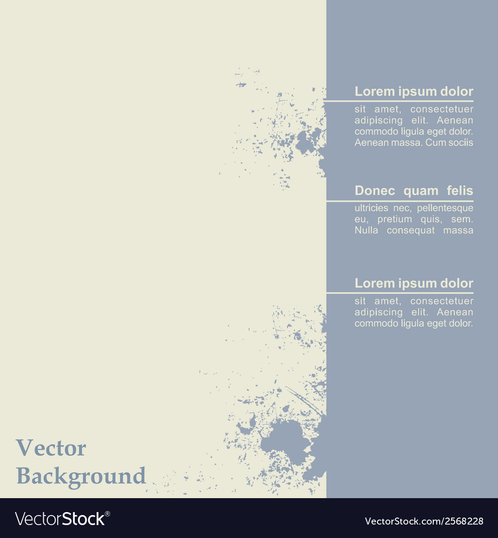 Abstract grunge background template design vector | Price: 1 Credit (USD $1)