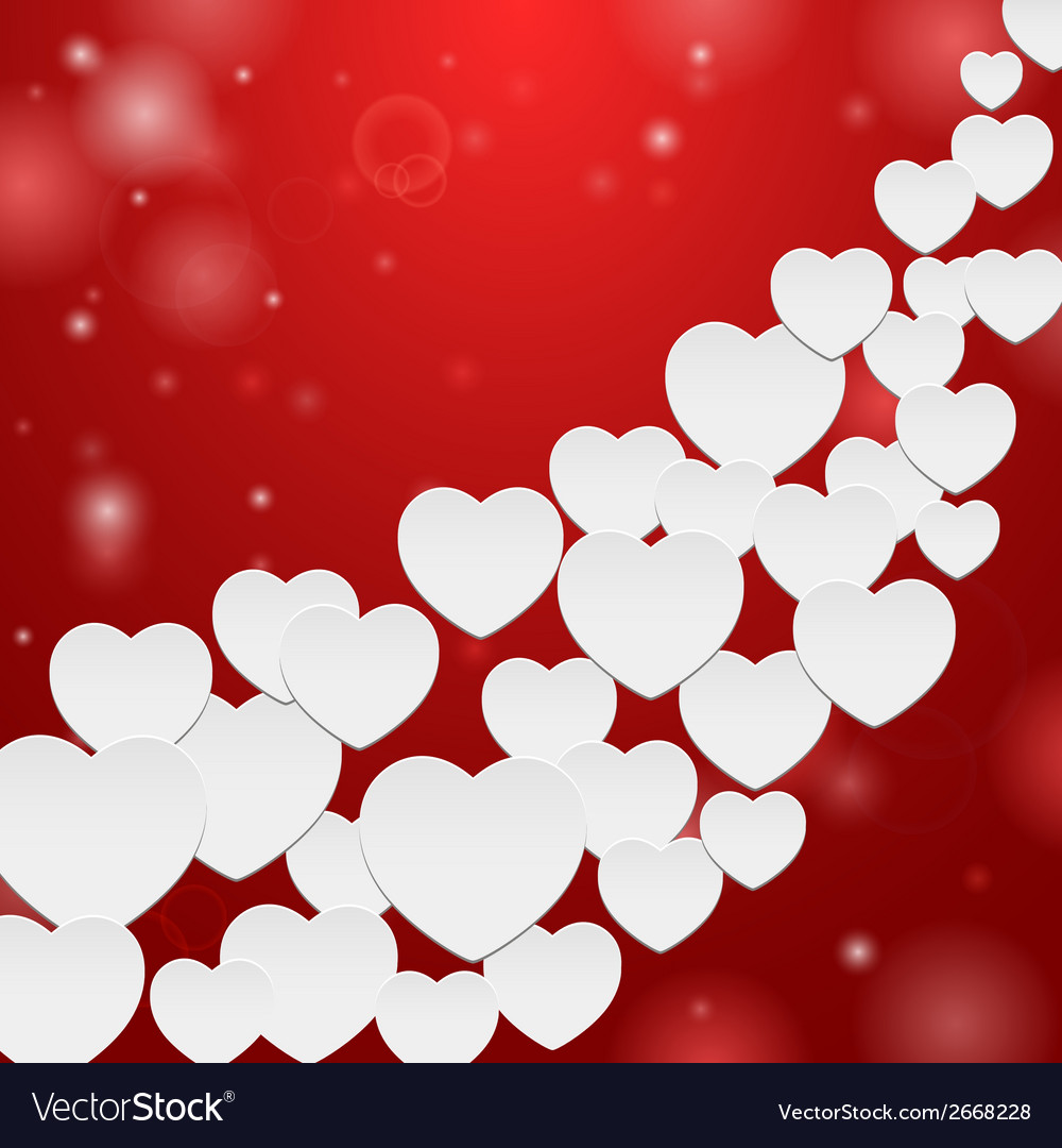 Many hearts vector | Price: 1 Credit (USD $1)