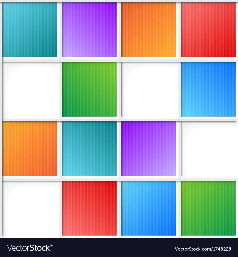 Multicolor squares vector | Price: 1 Credit (USD $1)