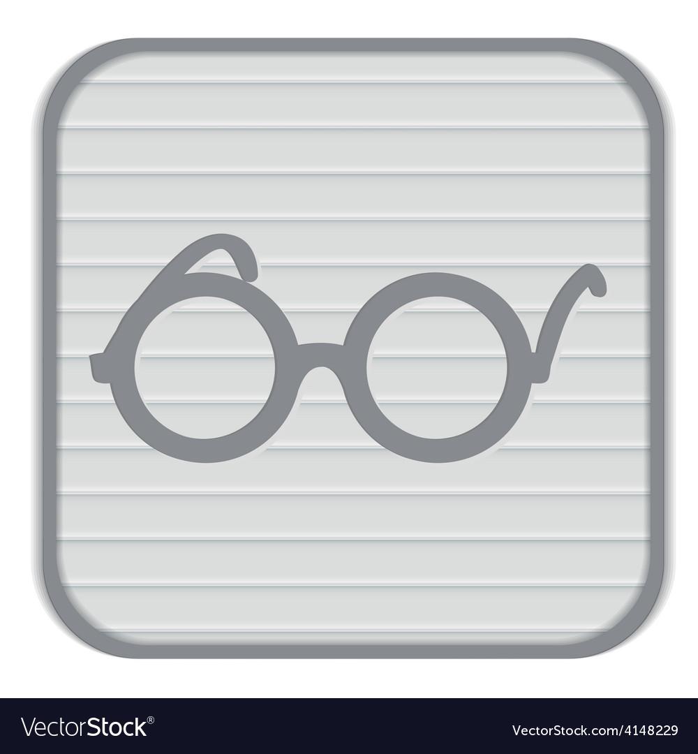 Glasses vector | Price: 1 Credit (USD $1)