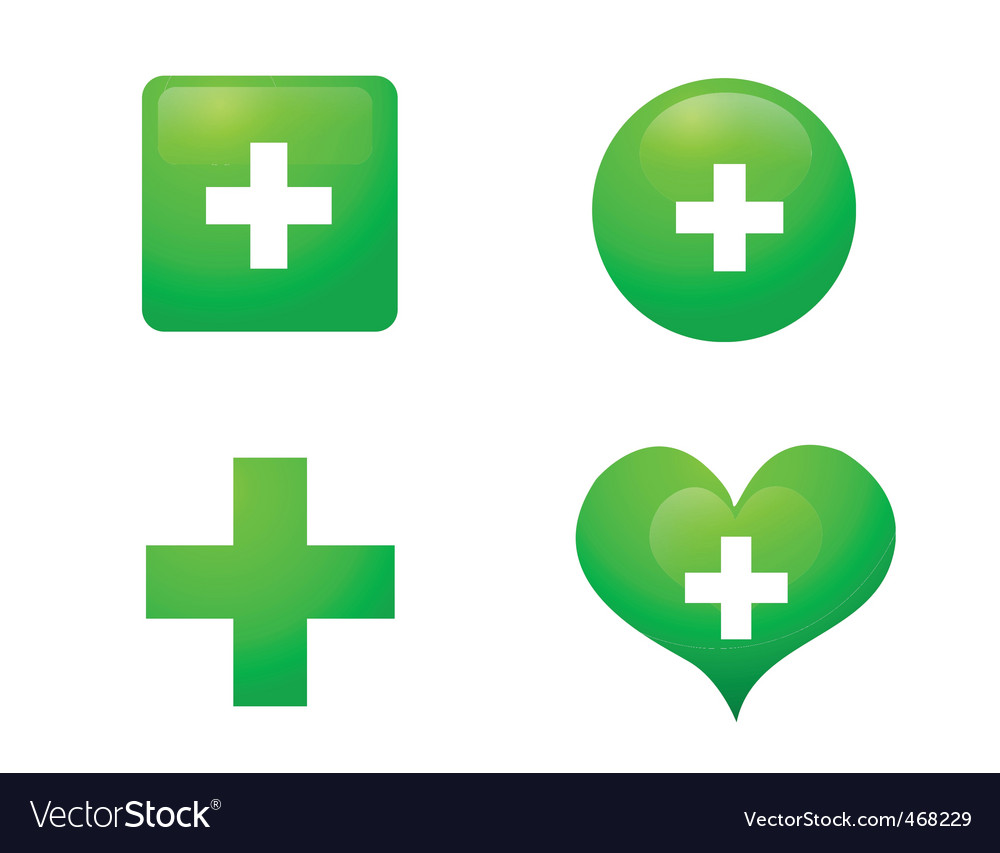 Healthcare icons vector | Price: 1 Credit (USD $1)