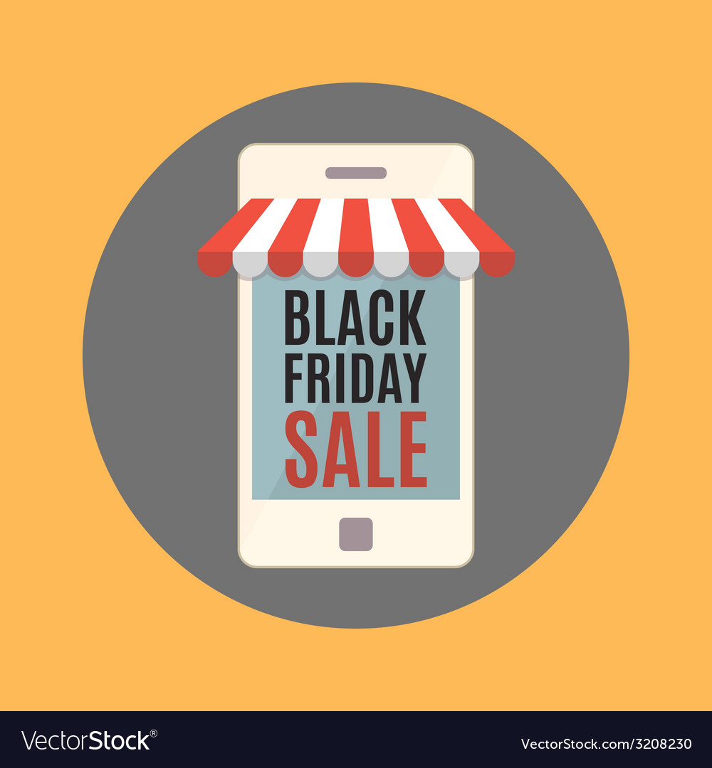 Black friday sale concept vector | Price: 1 Credit (USD $1)