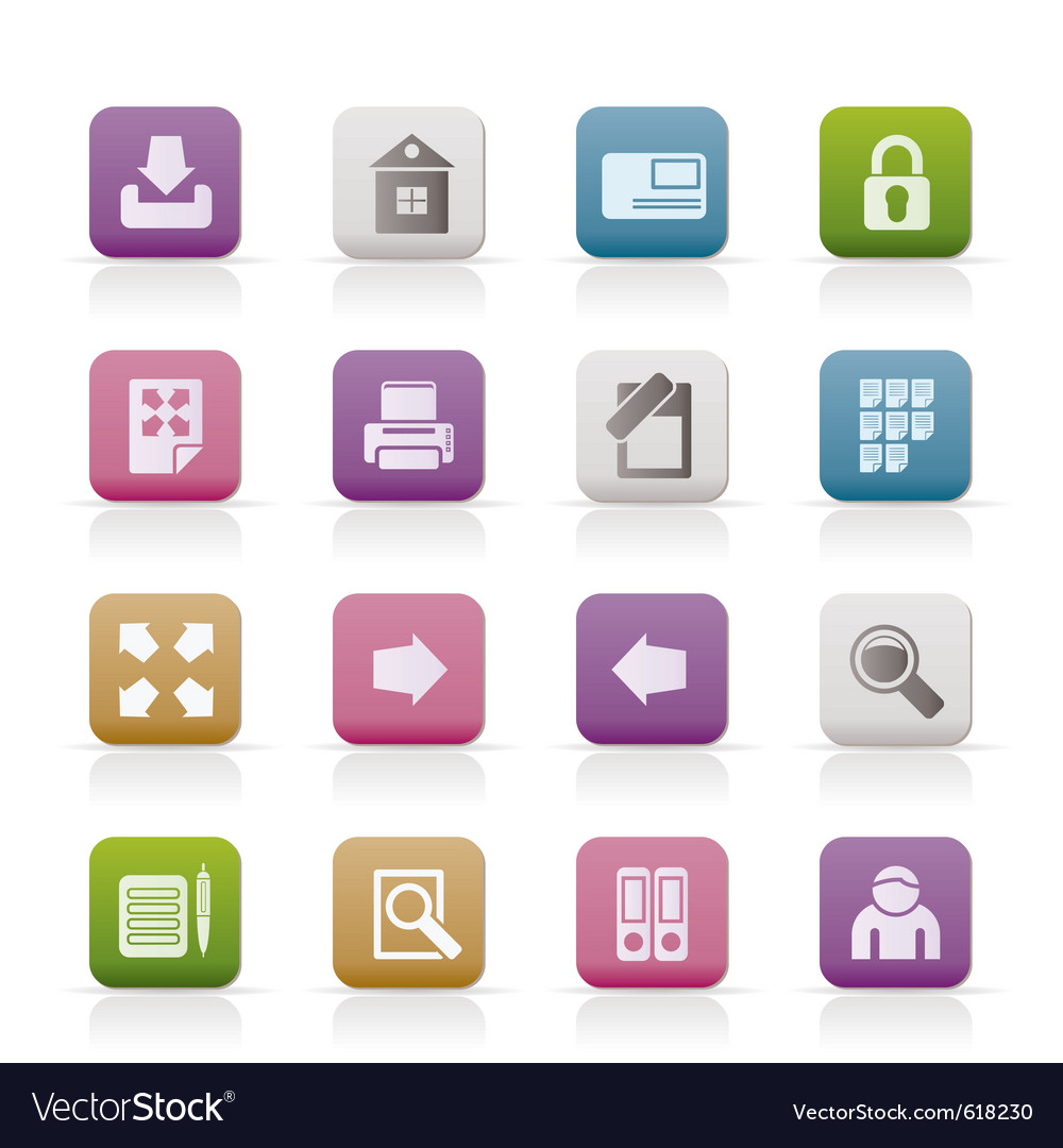 Internet and web site icons vector   Price: 1 Credit (USD $1)