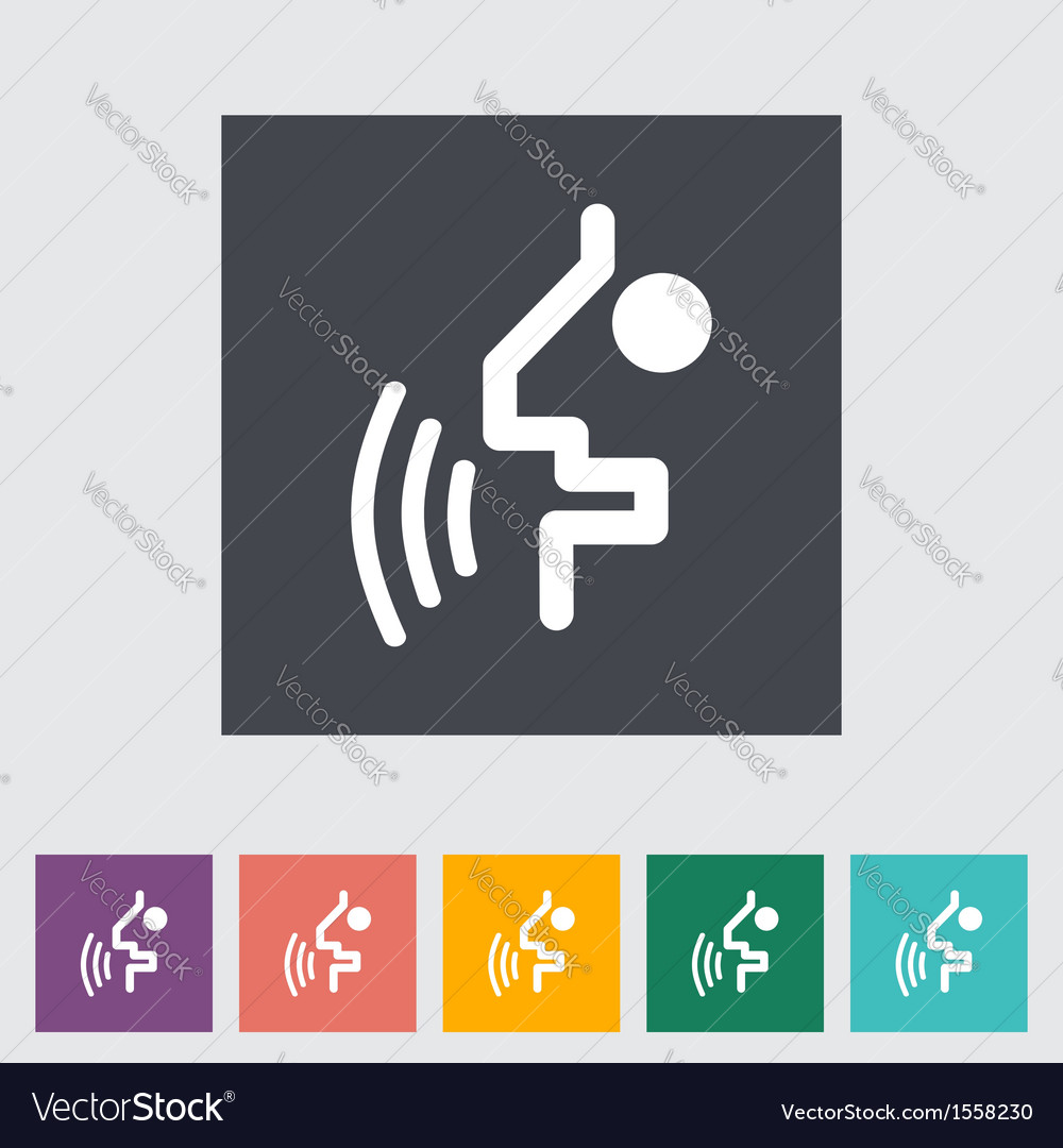 Voice recognition button vector | Price: 1 Credit (USD $1)