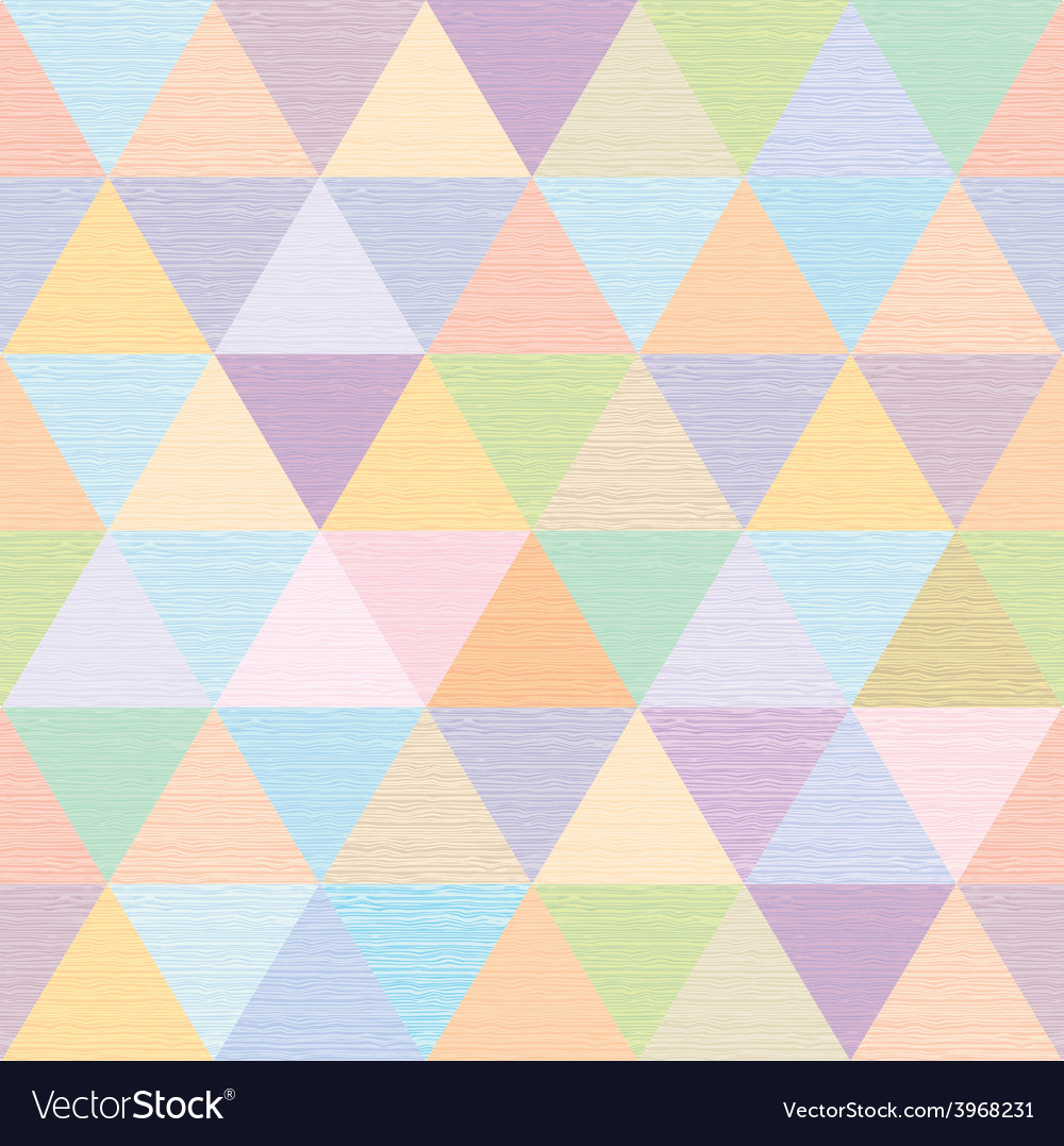 Abstract multicolored triangles repeat fabric vector | Price: 1 Credit (USD $1)