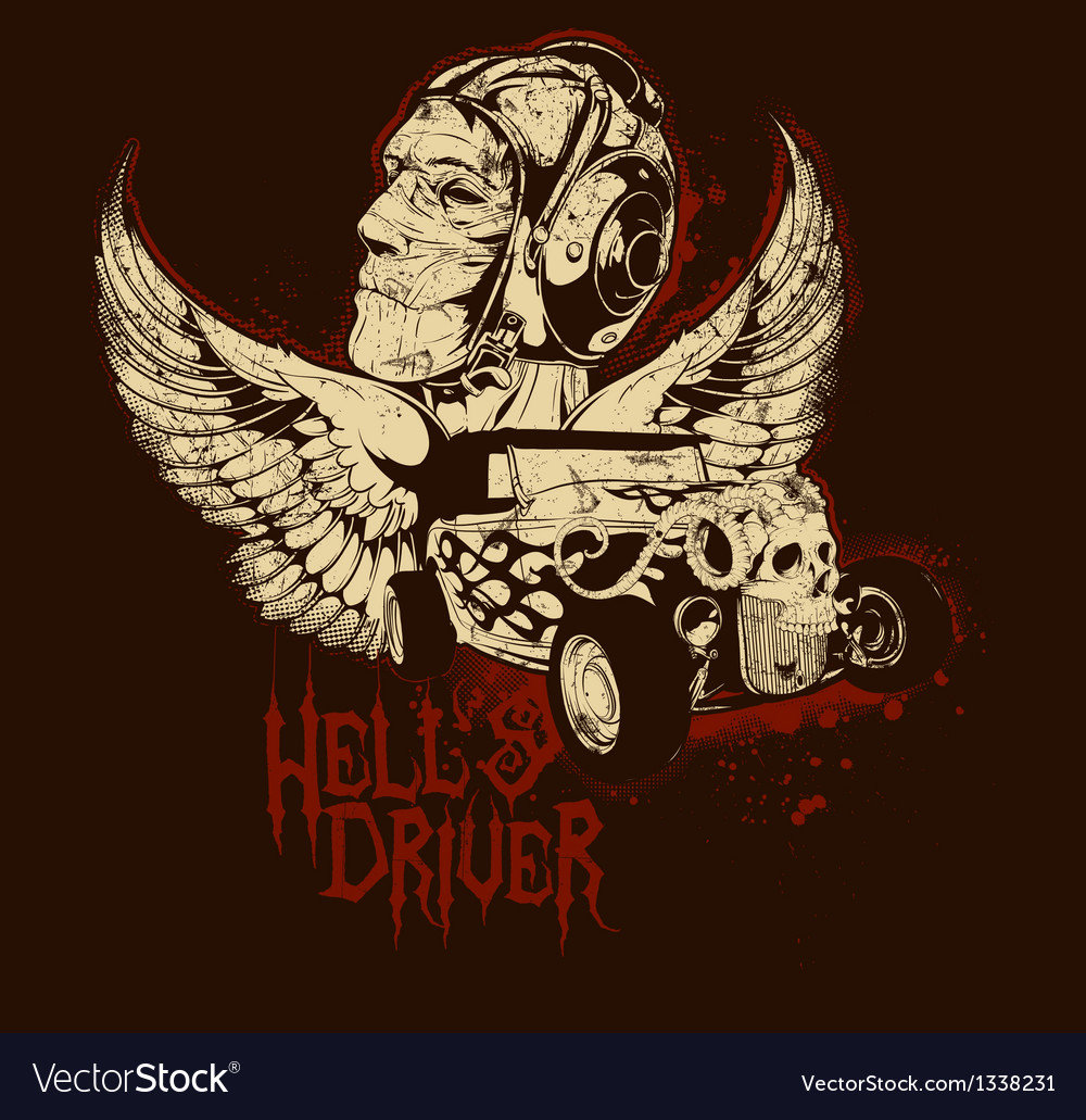 Hells driver vector | Price: 3 Credit (USD $3)