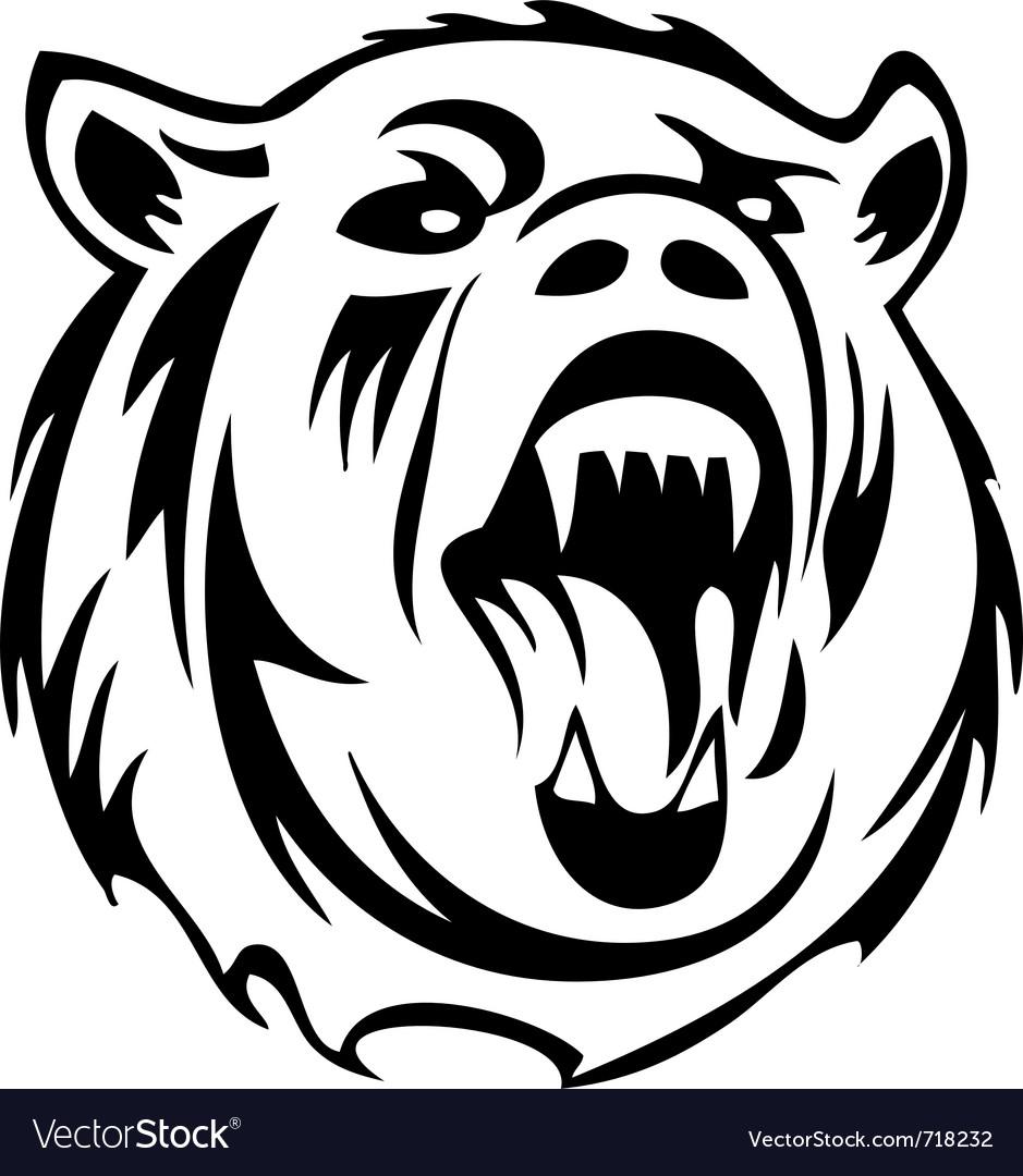Bear silhouette vector   Price: 1 Credit (USD $1)