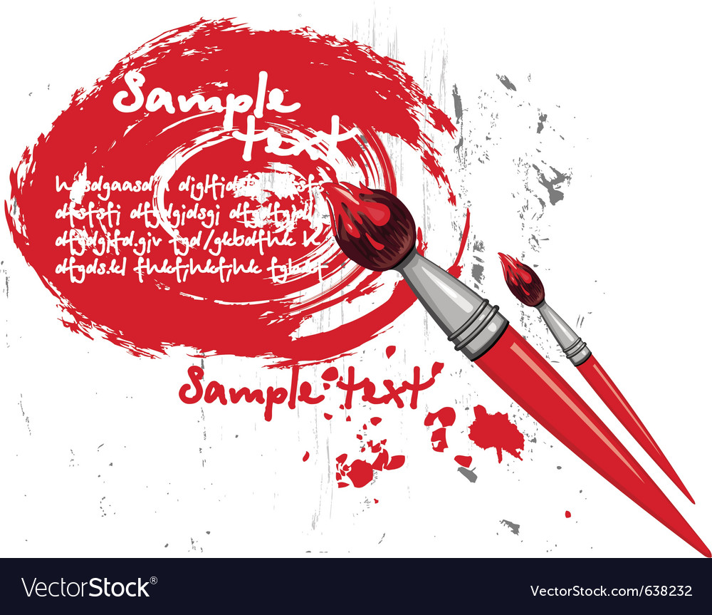 Paintbrush vector   Price: 1 Credit (USD $1)