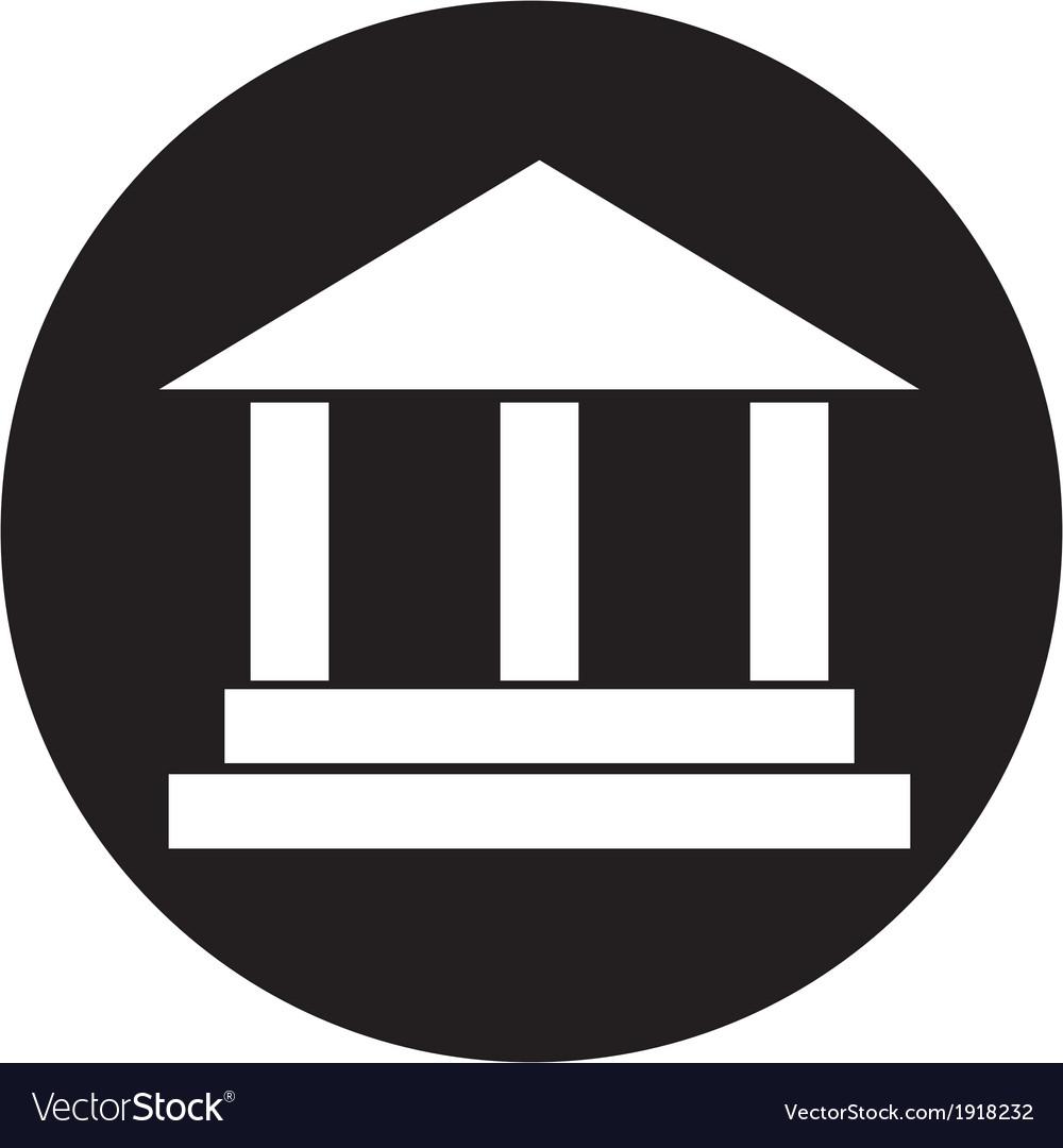 Pillar icon vector   Price: 1 Credit (USD $1)