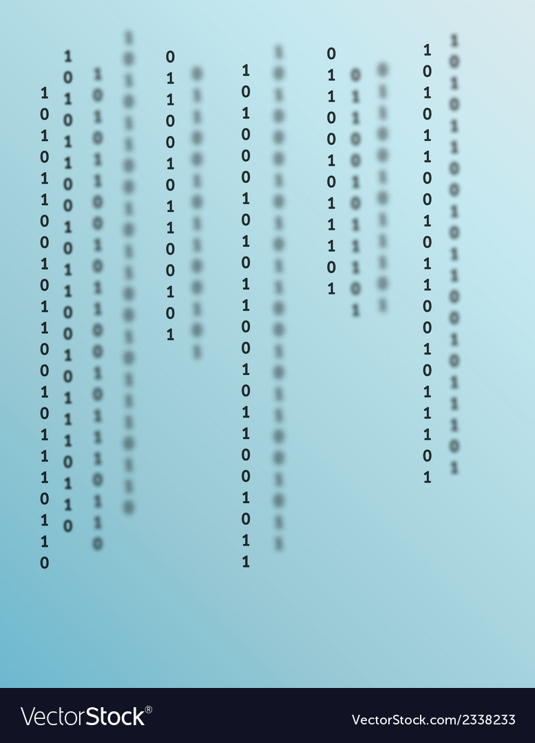 Blue binary background vector | Price: 1 Credit (USD $1)