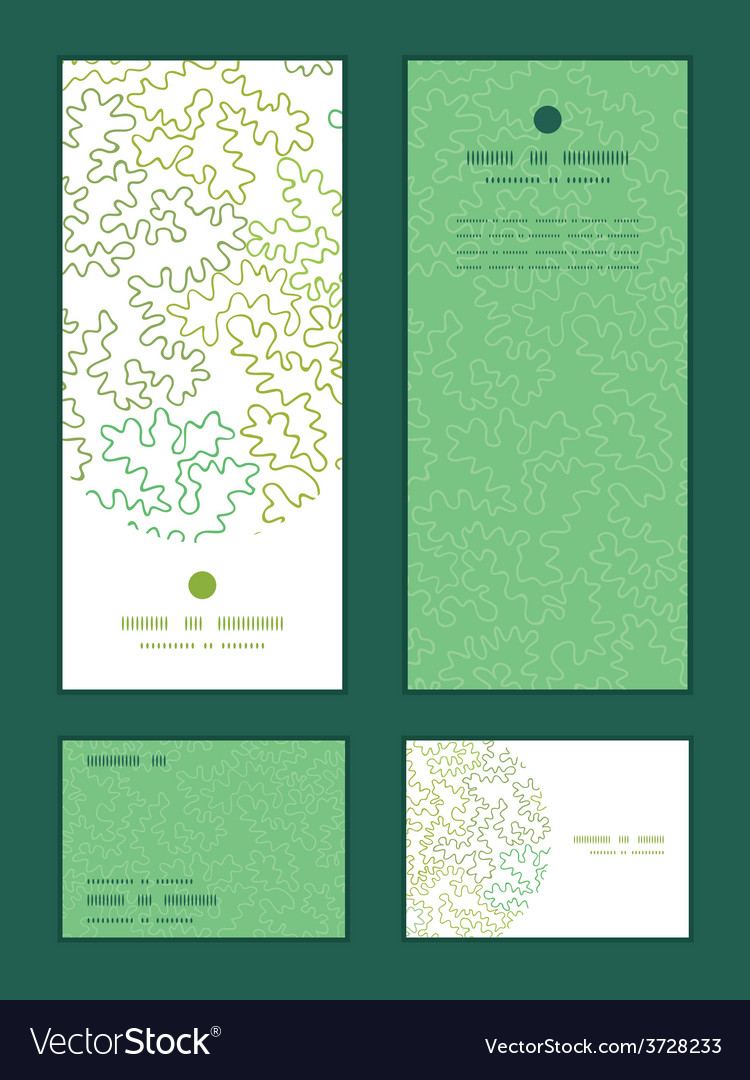 Curly doodle shapes vertical frame pattern vector   Price: 1 Credit (USD $1)