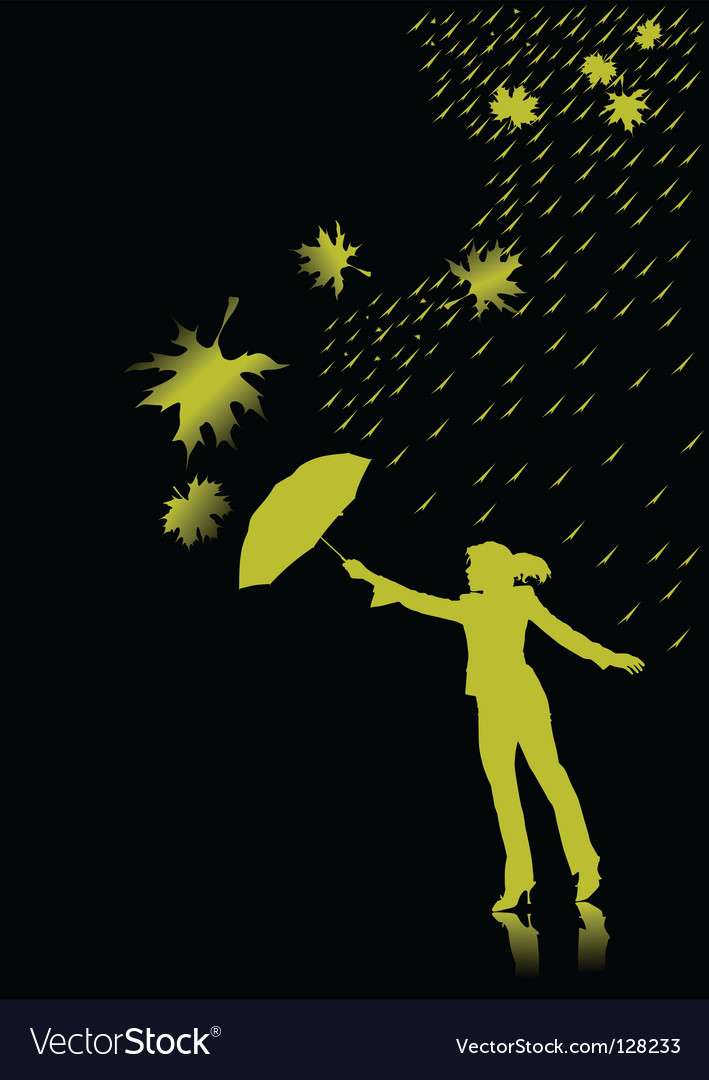 Rain vector | Price: 1 Credit (USD $1)