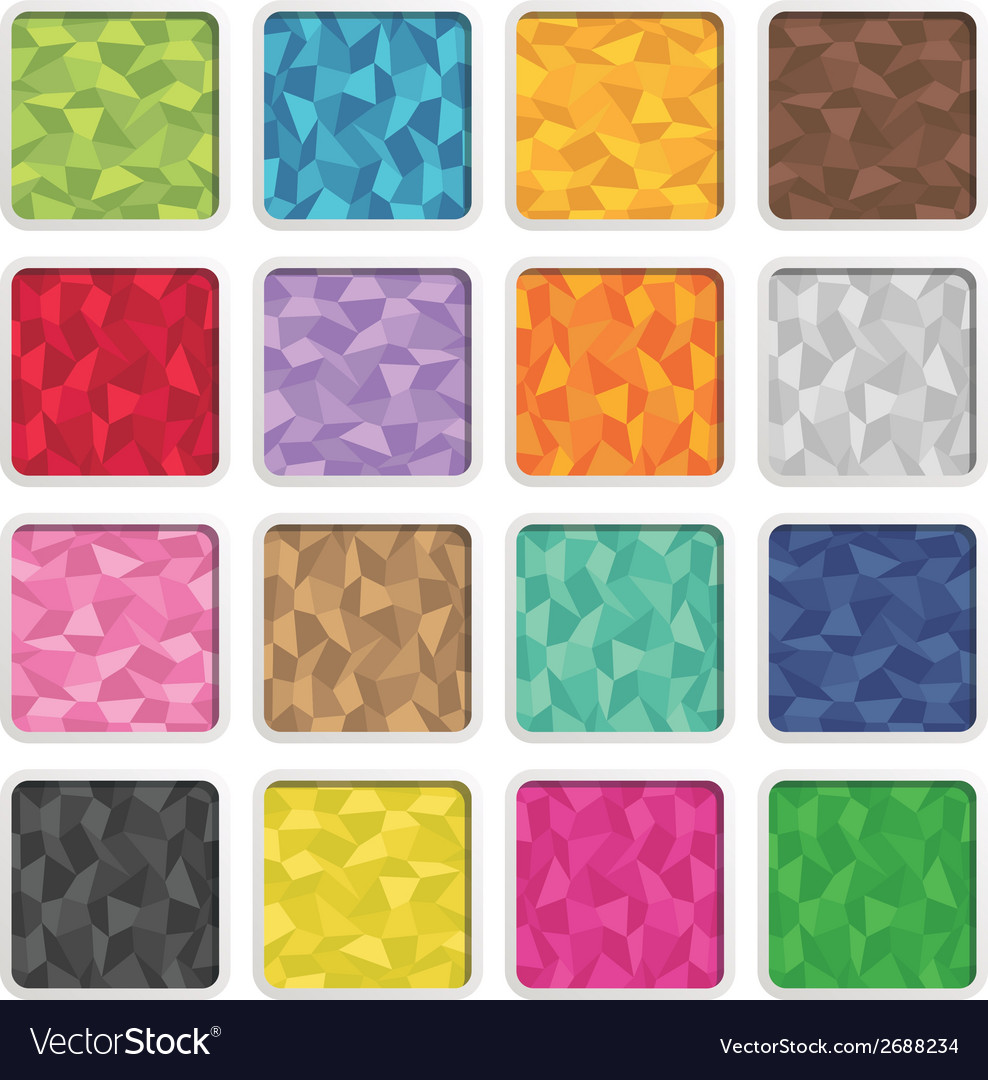 Polygon icons vector   Price: 1 Credit (USD $1)