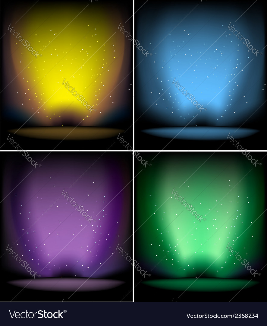 Shiny backgrounds set vector   Price: 1 Credit (USD $1)