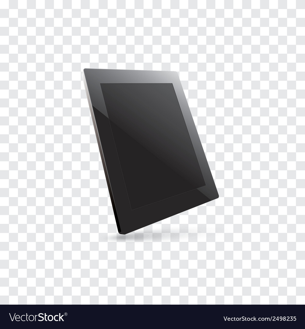 Computer tablet vector | Price: 1 Credit (USD $1)