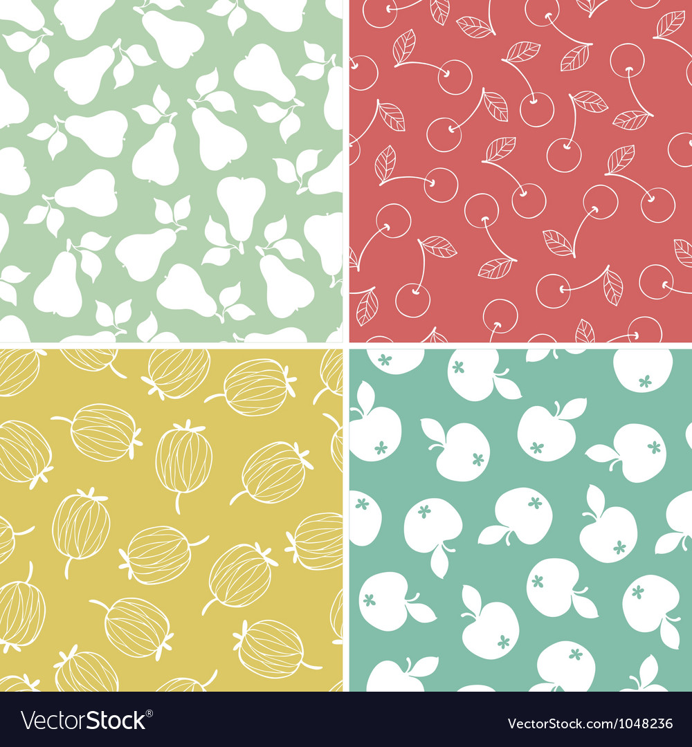 Fruits and berry seamless pattern vector   Price: 1 Credit (USD $1)