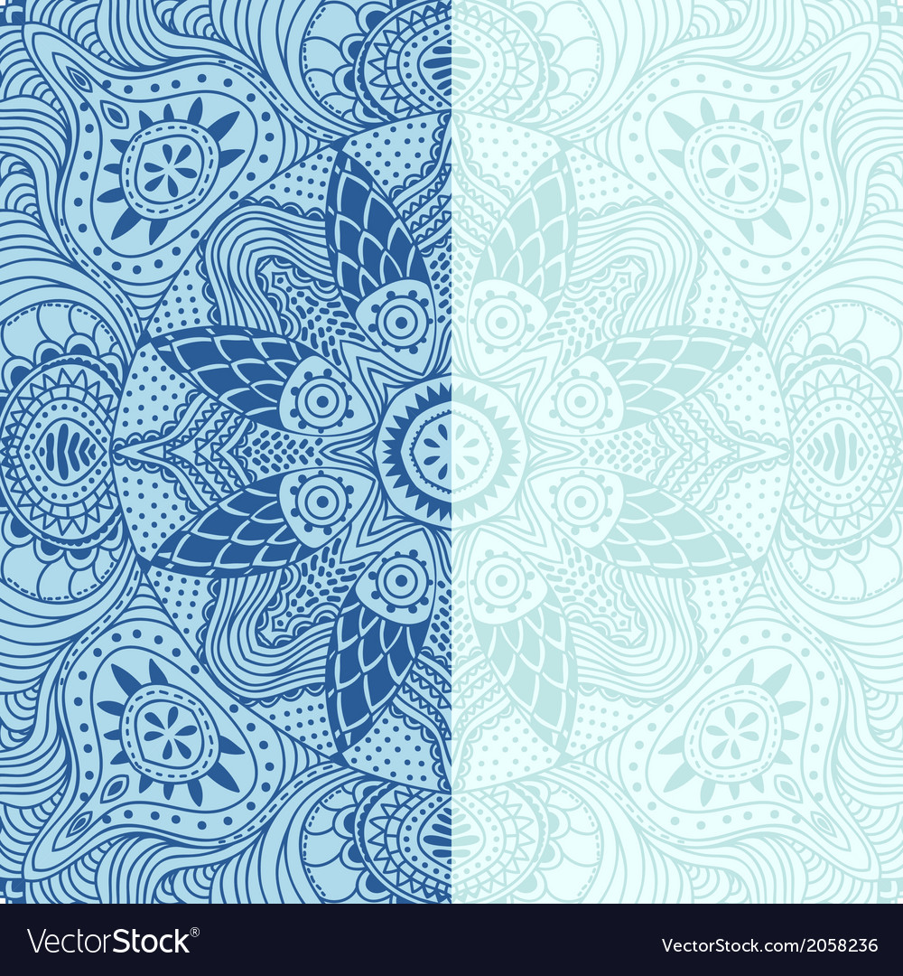 Ornamental lace pattern square background with vector   Price: 1 Credit (USD $1)