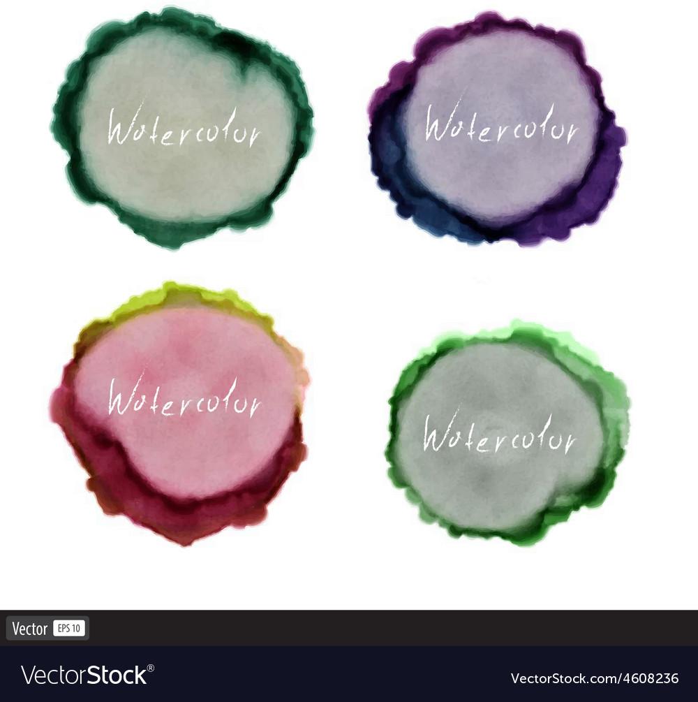 Watercolor set vector   Price: 1 Credit (USD $1)