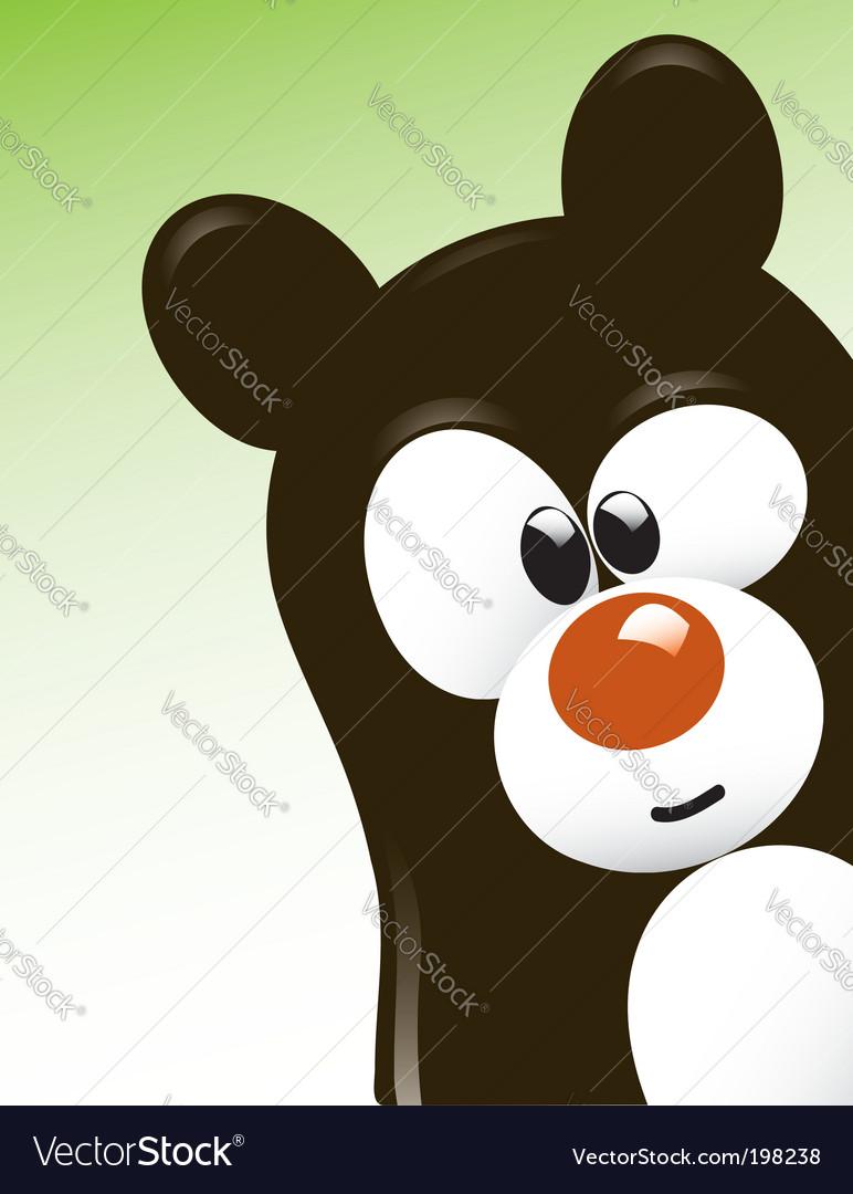Cute bear vector   Price:  Credit (USD $)